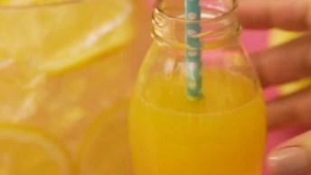 Receita De Limonada Amarela, Olha Só Que Delicia De Refrescante!