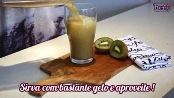 Receita De Limonada De Kiwi, Fácil De Fazer E Super Refrescante!