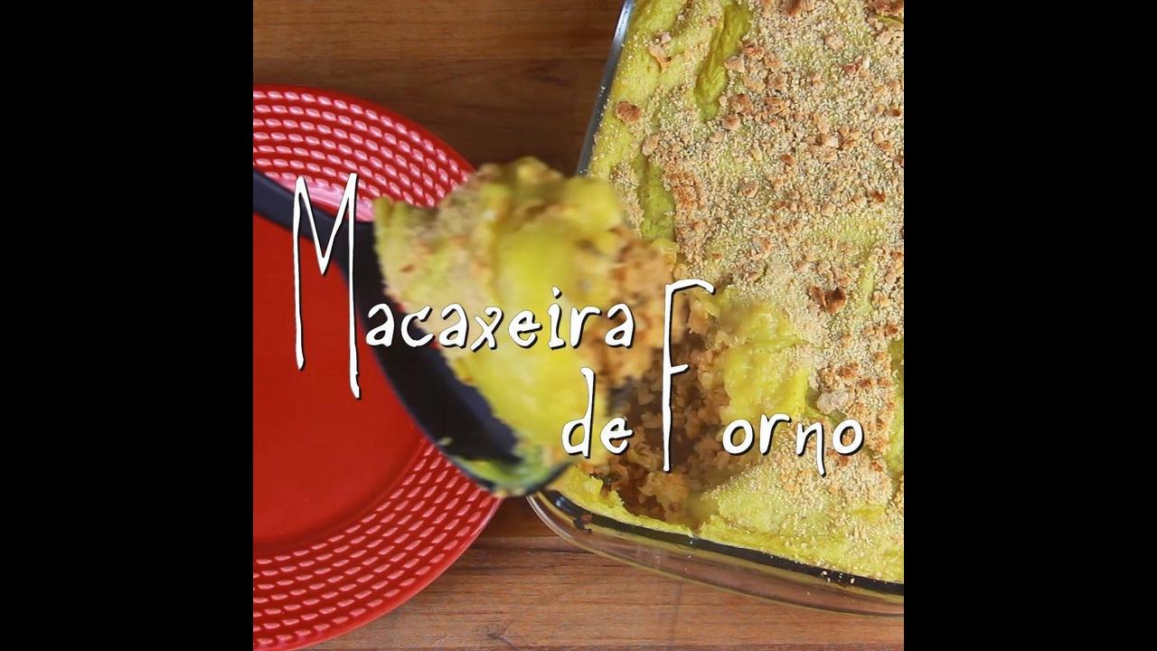 Receita de Macaxeira de forno com arroz