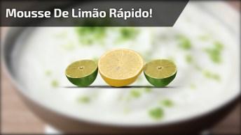 Receita De Mousse De Limão, Uma Das Sobremesas Que Todo Mundo Ama!
