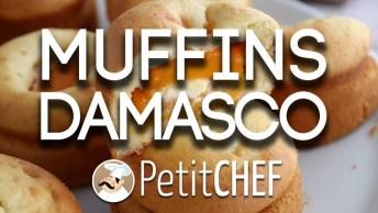 Receita De Muffins De Damasco Com Mascarpone, Diferente E Gostoso!