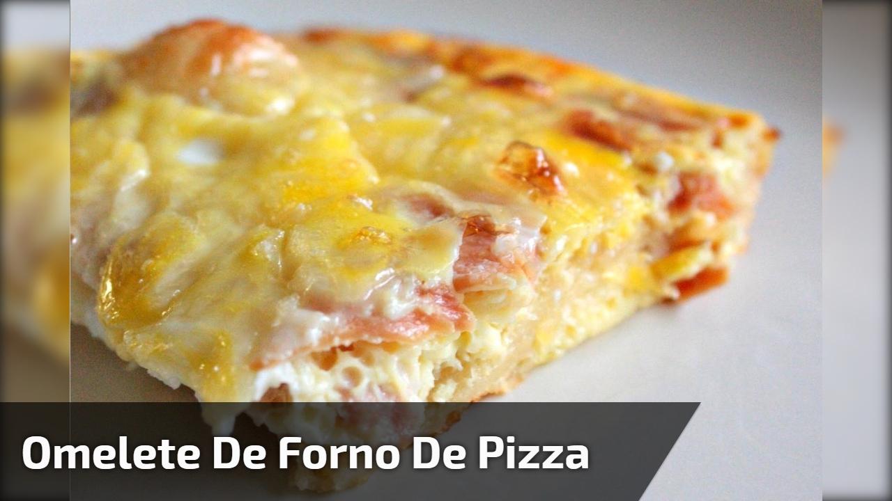 Omelete de forno de pizza
