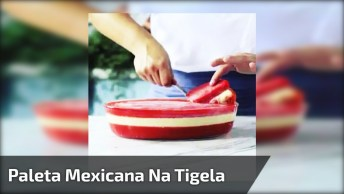 Receita De Paleta Mexicana Na Tigela, Uma Maravilha De Sobremesa Gelada!