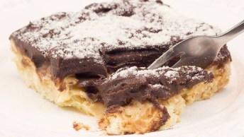 Receita De Palha Italiana De Leite Ninho Com Chocolate Cremoso!