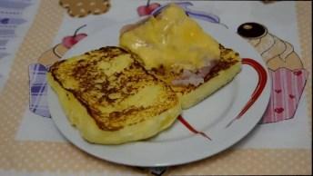 Receita De Panini, Olha Só Que Delicia Para Comer No Café Da Manhã, Ou Da Tarde!