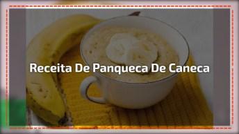 Receita De Panqueca De Caneca, Olha Só Que Delicia De Receita!