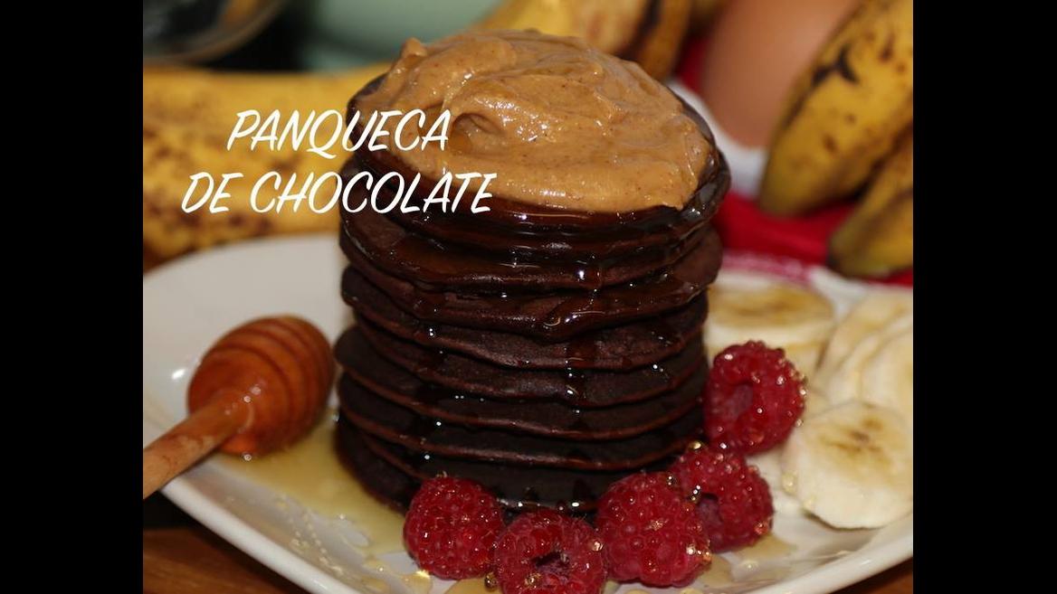 Receita de panqueca de chocolate, olha só que maravilha para TPM!!!
