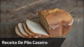 Receita De Pão Caseiro, Olha Só Que Delicia De Pãozinho Para O Café Da Tarde!
