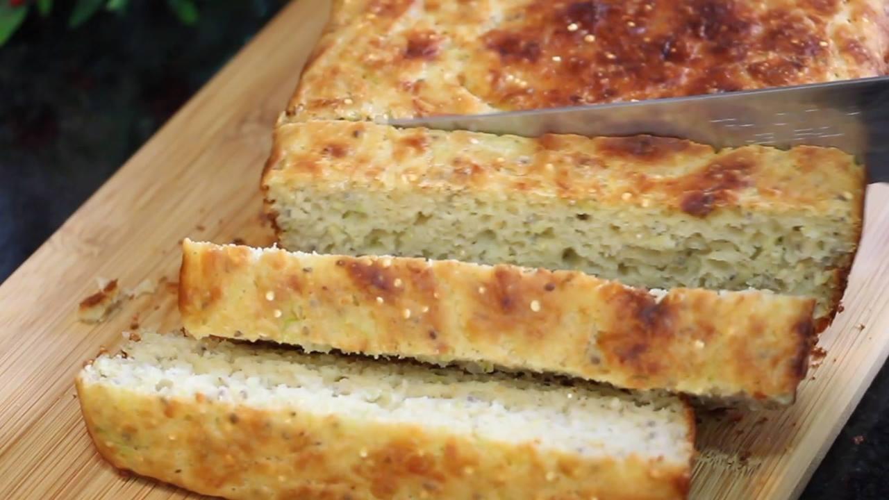 Receita de Pão de Abobrinha