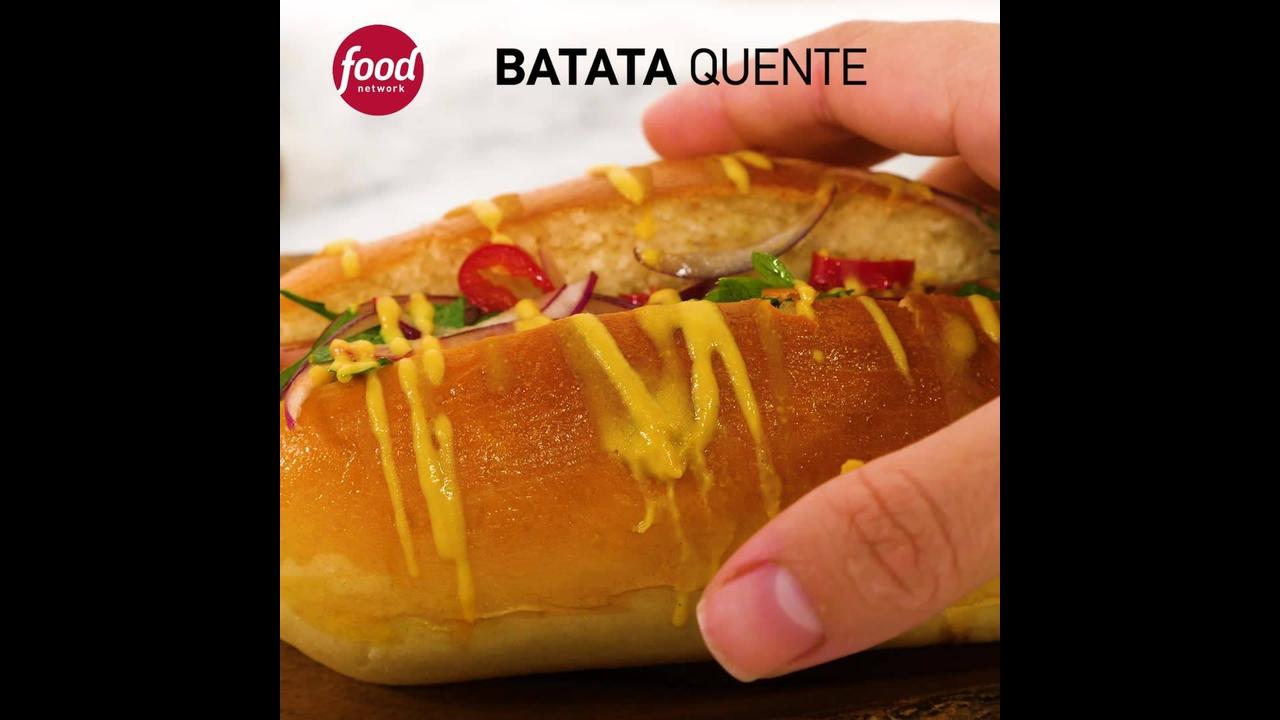 Receita de pão de batata, fácil de fazer