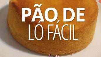 Receita De Pão De Ló Fácil, Você Irá Precisar De Apenas 4 Ingredientes!