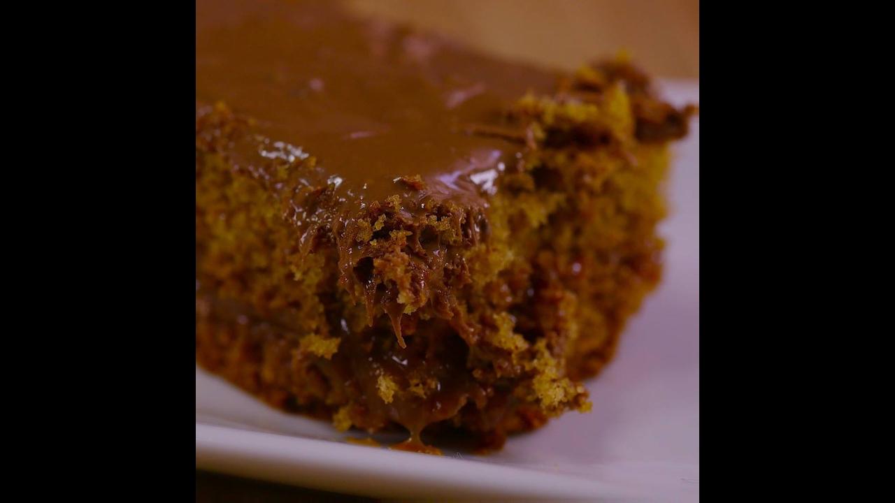 Receita de pão de mel recheado, fácil de fazer uma delicia de comer!!!