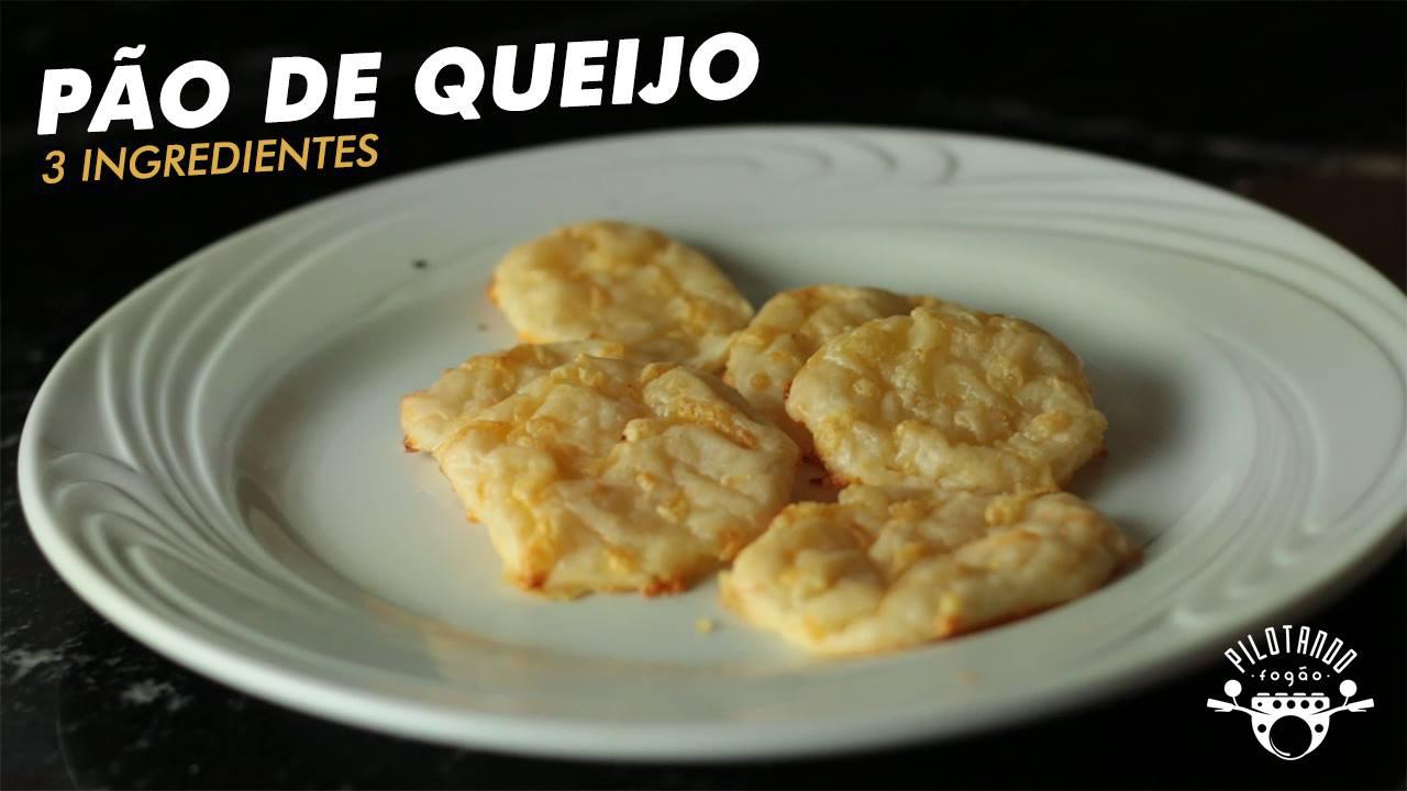 Receita de Pão de queijo com apenas 3 ingredientes