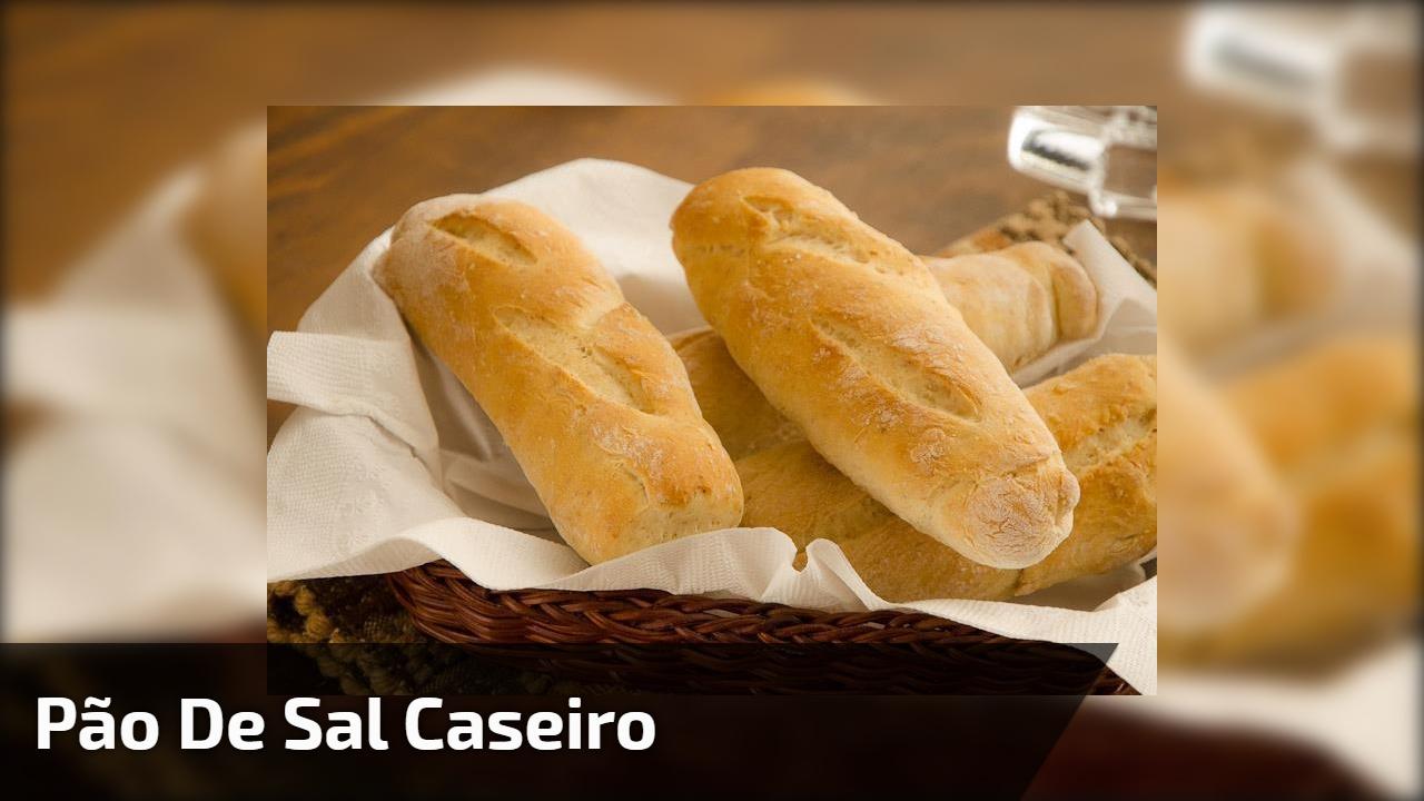 Pão de sal caseiro