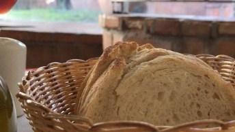 Receita De Pão Rústico, Um Pão Que Provado E Aprovado, Confira!