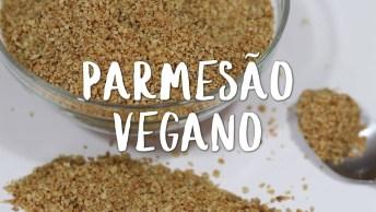 Receita De Parmesão Vegano, Ele É Perfeito Para Combinar Com Outros Pratos!