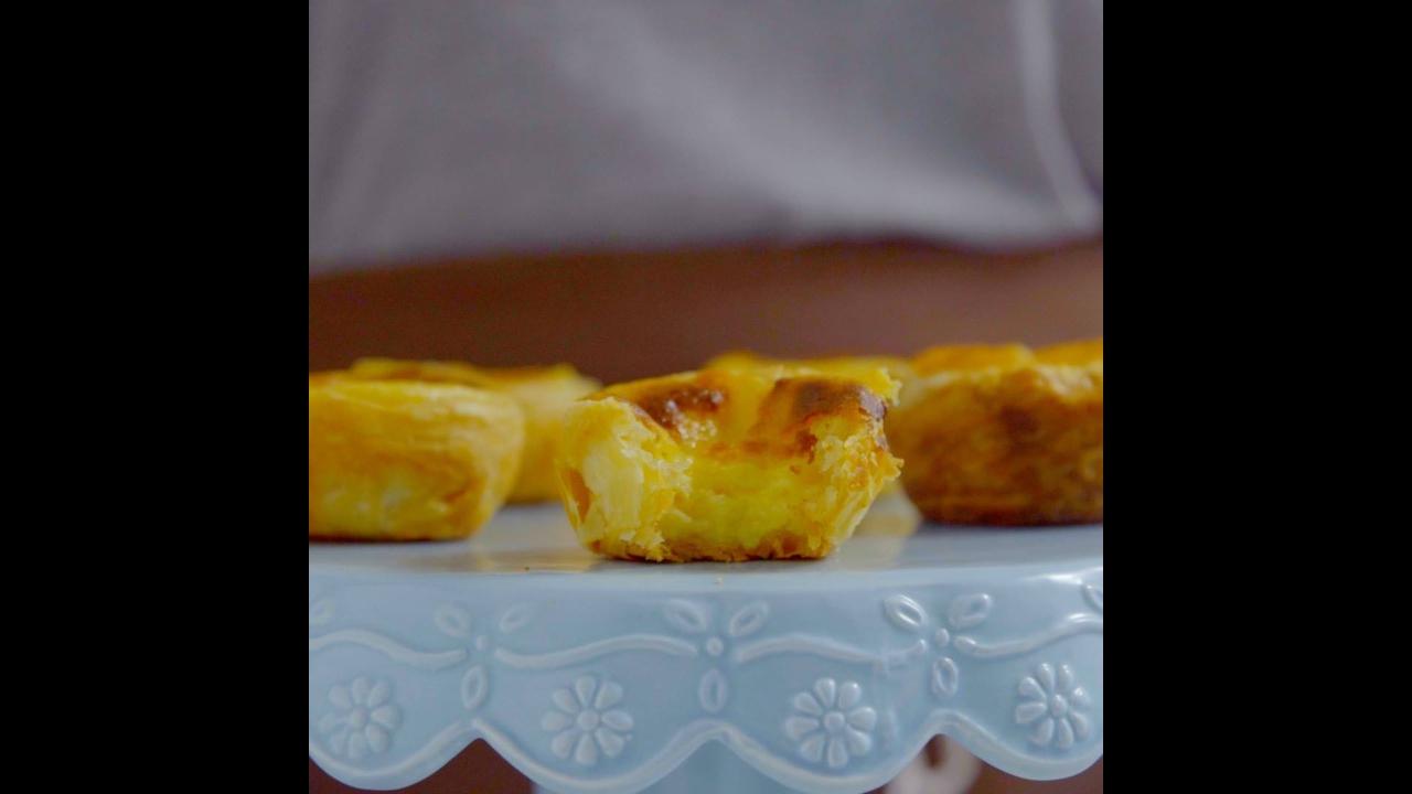 Receita de pastel de nata
