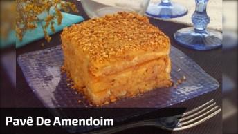 Receita De Pavê De Amendoim, Uma Maravilha De Sobremesa!