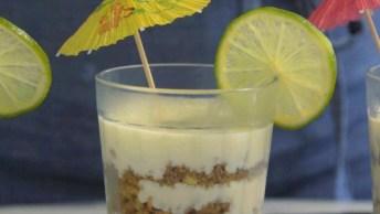 Receita De Pavê De Caipirinha, Uma Sobremesa Super Delicada E Deliciosa!
