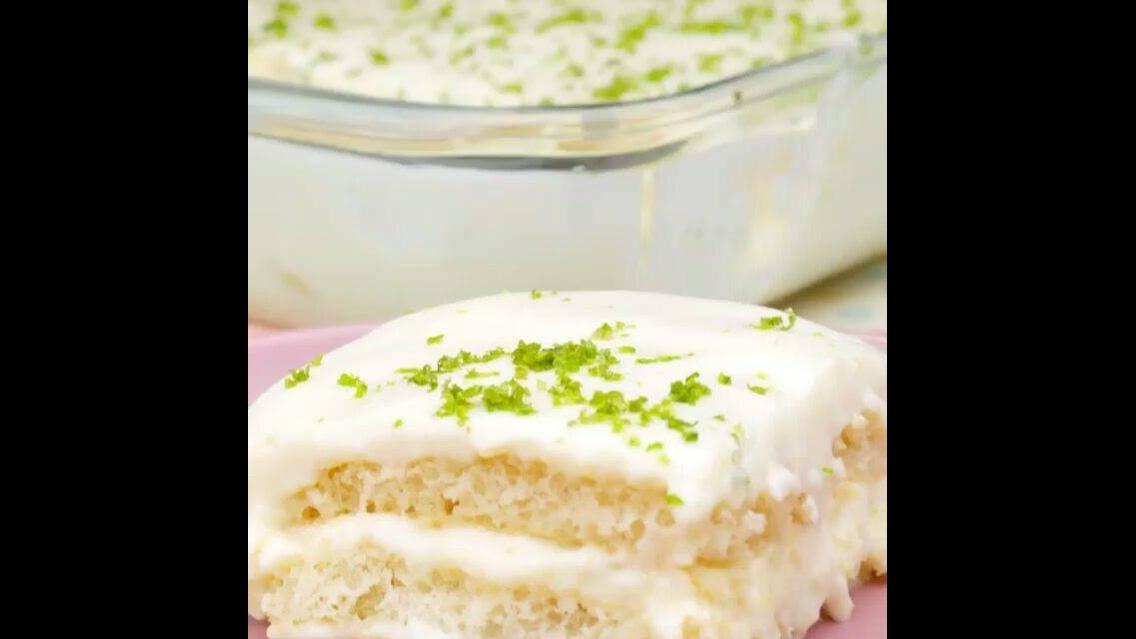 Receita de Pavê de limão, uma sobremesa perfeita e rápida!
