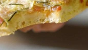 Receita De Pizza De Batata, Uma Receita Incrível, Confira!