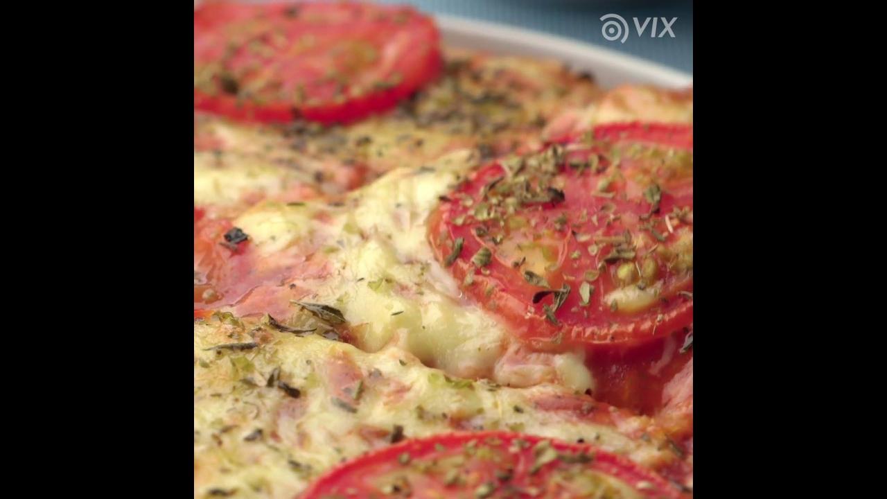 Receita de pizza de liquidificador super fácil de fazer, vale a pena conferir!!!