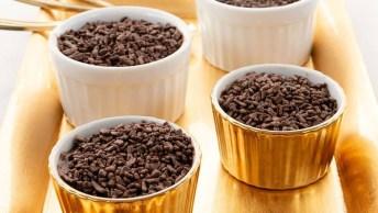 Receita De Pudim De Chocolate, Ele É Perfeito Para Ocasiões Especiais!