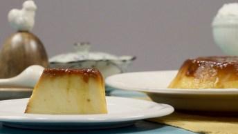 Receita De Pudim De Pão, Fácil De Fazer, Maravilhoso De Comer!