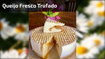 Receita De Queijo Fresco Recheado Com Doce De Leite, Delicioso!