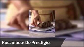 Receita De Rocambole De Prestígio, Um Doce Super Fácil De Fazer!