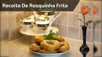 Receita De Rosquinha Frita De Leite Condensado, Uma Ideia Maravilhosa!