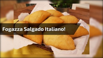 Receita De Salgado Frito Italiano, Olha Só Que Delicia De Receita!