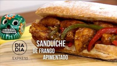 Receita De Sanduíche De Frango Apimentado Maravilhoso, Vale A Pena Conferir!