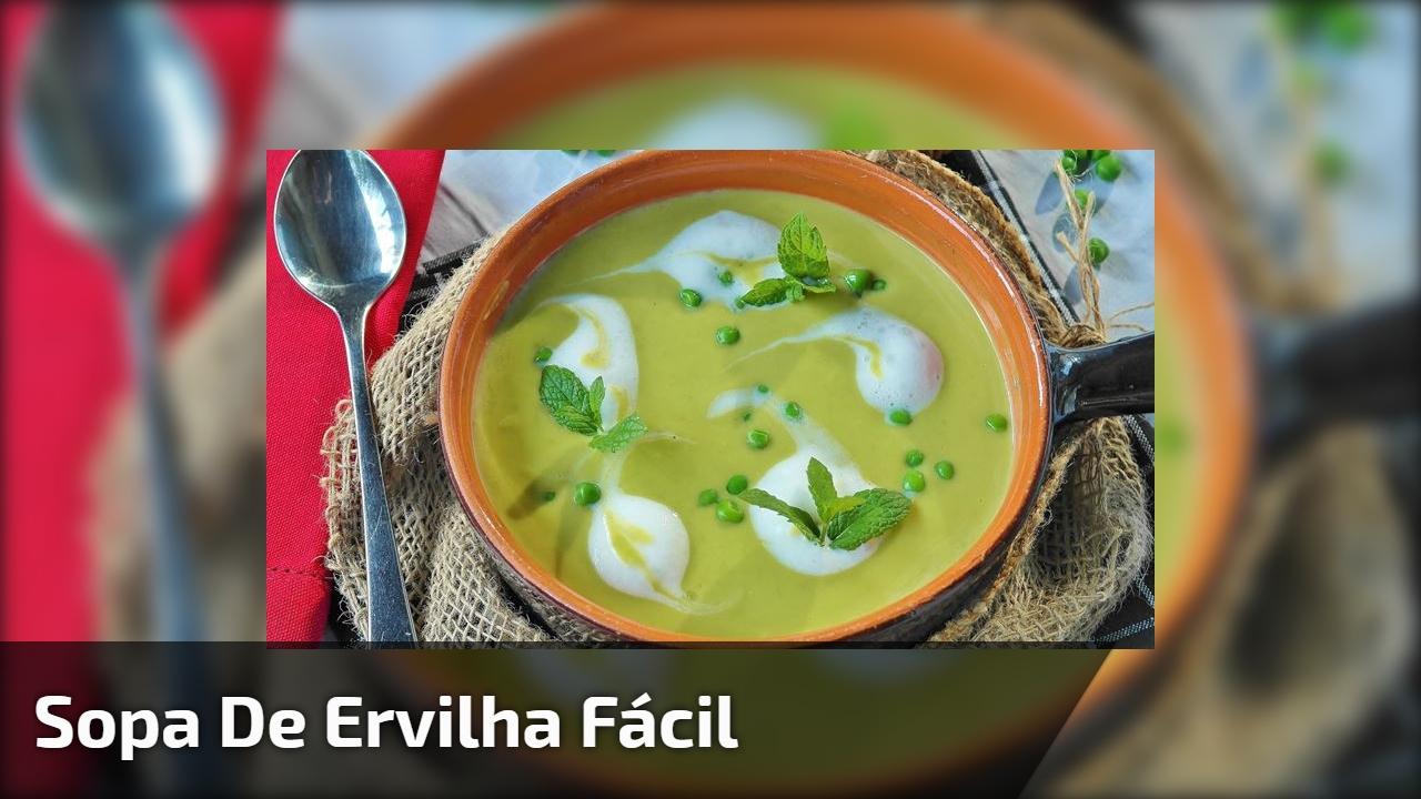Sopa de Ervilha fácil