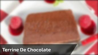 Receita De Terrine De Chocolate, Uma Ideia Para O Almoço De Domingo!