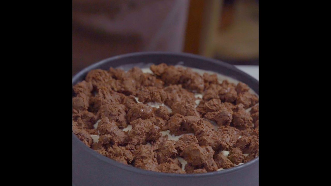 Receita de Torta Crocante de Sorvete com Nutella