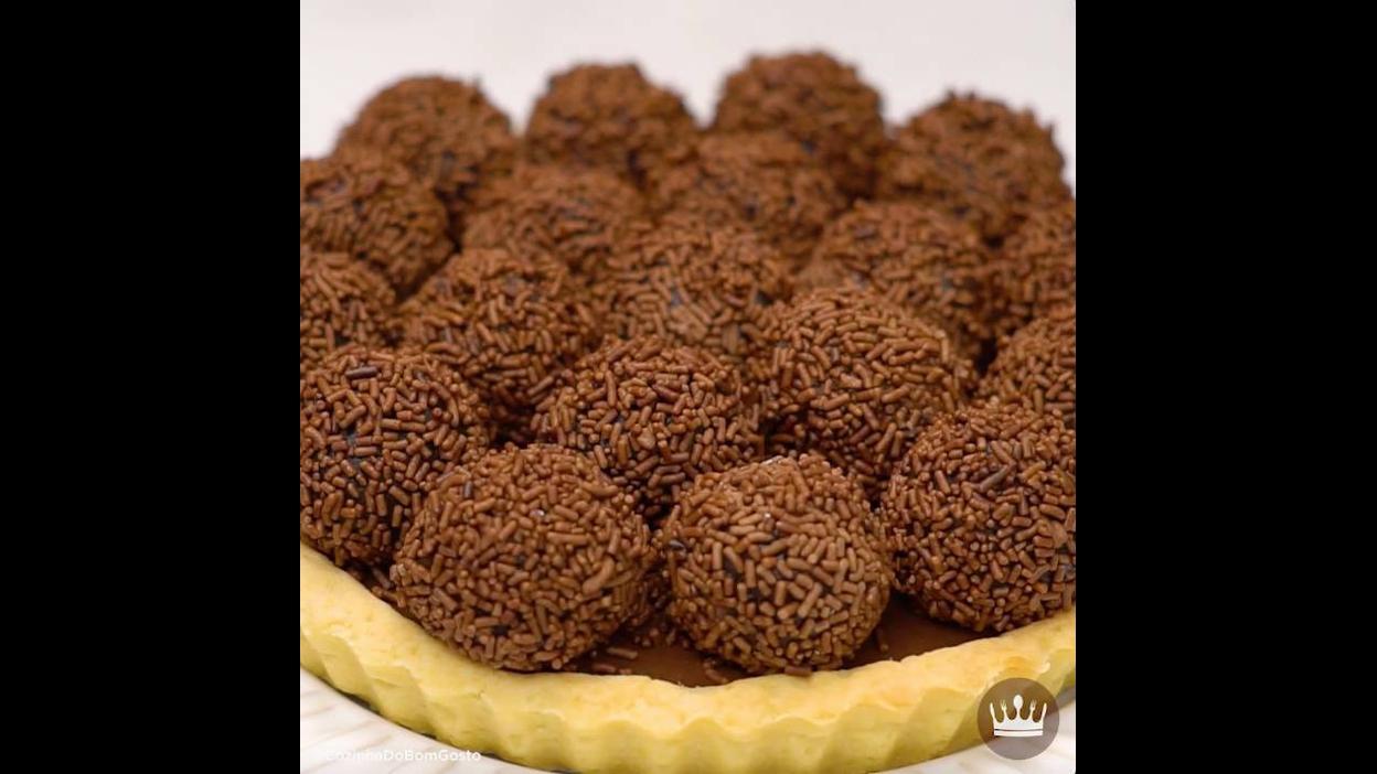 Receita de Torta de Brigadeiro, não tem como errar com essa sobremesa!