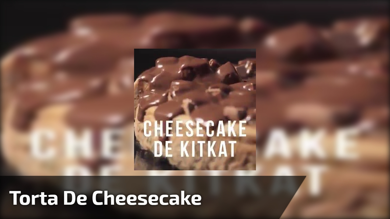 Torta de Cheesecake