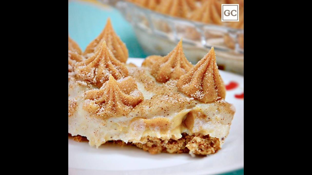 Receita de torta de churros, uma sobremesa que é uma maravilha!