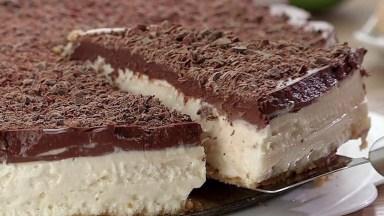 Receita De Torta De Limão Com Chocolate, Uma Combinação Perfeita!