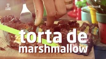 Receita De Torta De Marshmallow, Muito Fácil De Fazer E Saboreá-La!