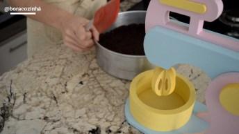 Receita De Torta De Morango, Mais Uma Sobremesa Maravilhosa!