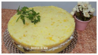 Receita De Torta De Polenta Gratinada, Que Ideia Incrível!