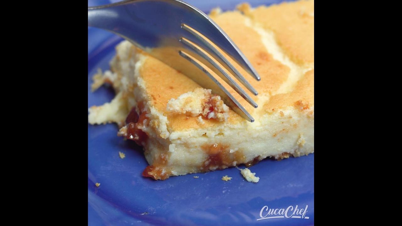 Receita de torta de ricota com goiabada, uma delicia de sobremesa!