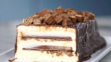 Receita De Torta De Sorvete Kit Kat, Uma Sobremesa Magnífica!