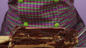Receita De Torta Palha Italiana, Um Doce Maravilhoso, Confira!