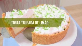Receita De Torta Trufada De Limão - Você Vai Amar Essa Sobremesa!