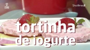 Receita De Tortinha De Iogurte, Deliciosas E Irresistíveis!