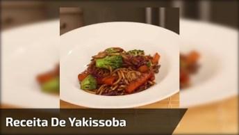 Receita De Yakissoba De Carne, Frango E Legumes, Muito Saboroso!