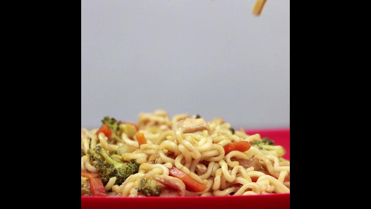 Receita de yakissoba, olha só que delicia de comida